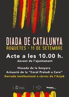 Diada de Catalunya a Roquetes: 11 de setembre del 2018