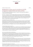 Resum 2015: El clam contra la mortalitat de l'N-340, protagonista d'aquest 2015 a les Terres de l'Ebre