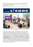 Els centres educatius, entre l'educació telemàtica i la reobertura imminent.