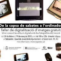 De la capsa de sabates a l'ordinador: taller de digitalització d'imatges gratuït: vine i crea el teu àlbum digital amb fotografies del record