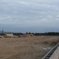 Nova Construcció al Pla de l'Estació a l'any 2005