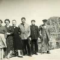 Foto 78. en el puente de la peña de Jardi. 1959