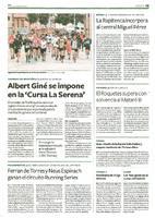 """Albert Giné se impone en la """"Cursa La Serena"""""""