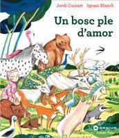 Il·lustracions del conte 'Un bosc ple d'amor' del Jordi Cuixart i l'Ignasi Blanch, 2019