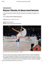 Nayara i Nassim, la dansa sense barreres