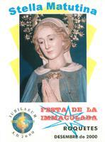 """""""Stella Matutina"""" Festa de la Immaculada Roquetes 2000"""