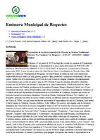 """Presentació de l'oferta educativa de l'Escola de Música Tradicional Ebrenca """"Lo Canalero"""" de Roquetes"""