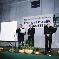 Festa del 14 d'abril al Casal Municipal de la Raval de Cristo