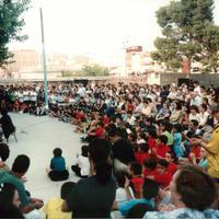 Festa fi de curs de l'Escola Mestre Marcel·lí Domingo, l'any 2000