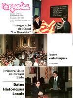 Roquetes: revista mensual d'informació local, número 76, novembre-desembre 1991. 8è Any