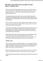 """Els Quicos presenten el seu nou disc """"No tinc diners"""", sobre la crisi."""