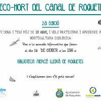 L'Eco-hort del Canal de Roquetes