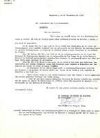 Comunicat del President del Patronat de Festes de Roquetes al President del CD Roquetenc, 1981
