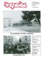 Roquetes: revista mensual d'informació local, número 78, febrer, 1992.