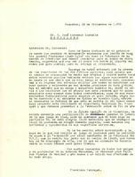 Correspondència entre Francesc Fabregat Cortiella i José Caresmar Castells. 1970