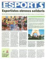 Esportistes ebrencs solidaris