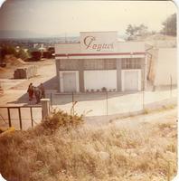 Les instal·lacions on actualment hi ha el magatzem de la Brigada Municipal de Roquetes, 1979