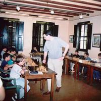 Campionat escacs Club Peó vuit al Casal Hort de Cruells.