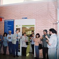 Inauguració de Biblioteca IES Roquetes, any 2002