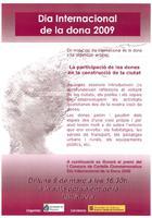Dia Internacional de la dona 2009