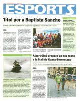Albert Giné prepara un nou repte a la Trail de Guara-Somontano