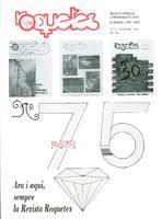 Roquetes: revista mensual d'informació local, número 75, octubre 1991. 8è Any