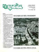Roquetes: revista mensual d'informació local, número 103, març 1994