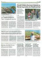 """La """"Pujada solidària a Caro"""" recauda 611 euros"""