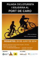 Pujada cicloturista i solidària al Port de Caro