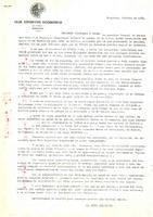 Comunicat de la Junta Directiva del CD Roquetenc als socis, 1983