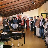 Inauguració de l'exposició de pintura al Casal Municipal de l'Hort de Cruells