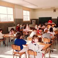 Els nens a l'aula