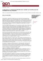 """CCOO vol que es compensin els 600.000 euros """"perduts"""" per recol·locar els 500 treballadors de Lear a Roquetes"""