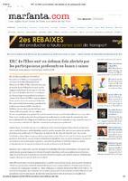 ERC de l'Ebre surt en defensa dels afectats per les participacions preferents en bancs i caixes