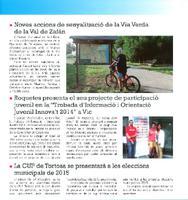 """Roquetes presenta el seu projecte de participació juvenil en la """"Trobada d'Informació i Orientació Juvenil Innova't 2014"""" a Vic"""
