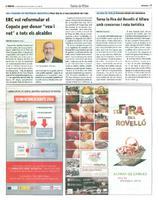 """ERC vol reformular el Copate per donar """"veu i vot"""" a tots els alcaldes"""
