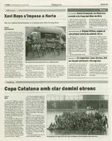El roquetenc Joan Alcoba, 26è en fossat universal a Saragossa