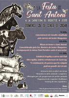 La Festa de Sant Antoni a la carretera de Roquetes a Jesus, diumenge 21 de gener de 2018