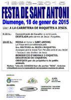 Festa de Sant Antoni.<br /><br /> 1993-2015
