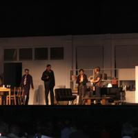 """Representació teatral de l'obra """"Els hereus"""" d'Alain Krief, adaptació i direcció de Pep Antón Gómez, any 2007."""