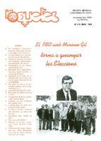 Roquetes: revista mensual d'informació local, número 116, maig 1995