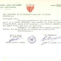 El CF Jesús Catalonia concedeix la baixa al jugador Josep A. Garcia Leon