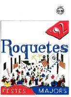 Programa de les Festes Majors de Roquetes 1992