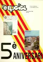Roquetes: revista mensual d'informació local, número 39, gener 1988