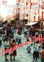 Programa de les Festes Majors de Roquetes 1996