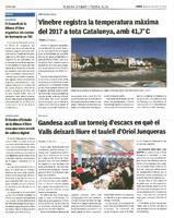Gandesa acull un torneig d'escacs en què l Valls deixarà lliure el taulell d'Oriol Junqueras.