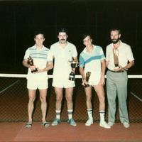Guanyadors torneig tennis Festes Majors anys 1980