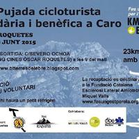 III Pujada cicloturista solidària i benèfica a Caro