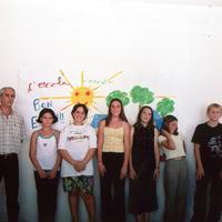 Fi de curs a l'Escola Raval de Cristo 2001
