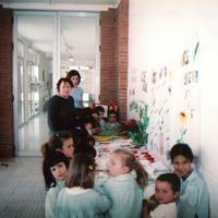 Sant Jordi a l'Escola Raval de Cristo 2002